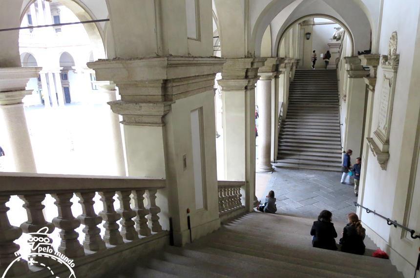 O Palácio de Brera