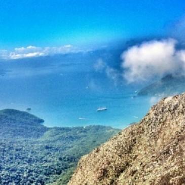 Ilha Grande - Vista da Trilha