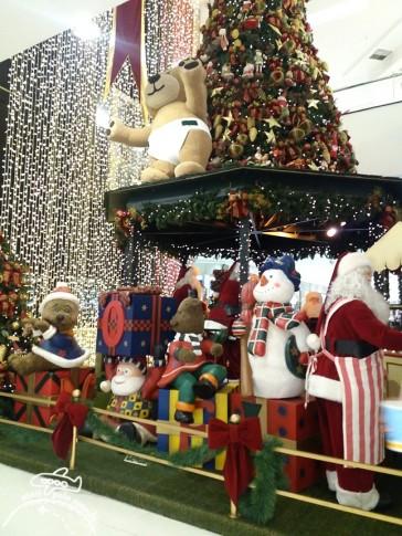Decoração de Natal em Shopping Center