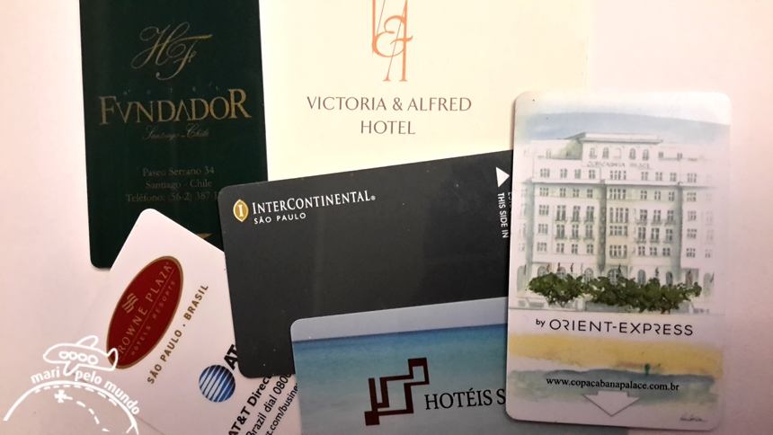 Chave digital de hotel