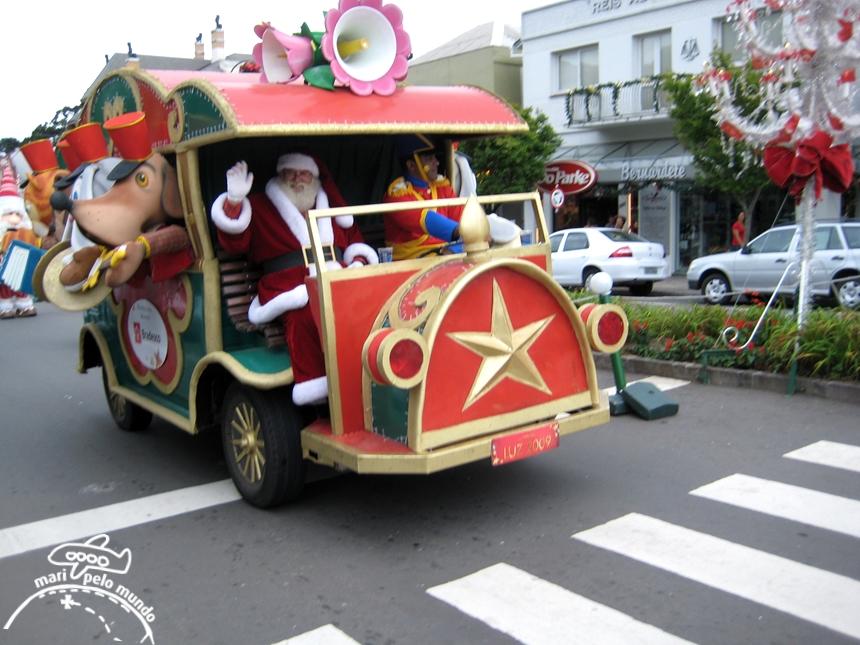 Papai Noel no Desfile