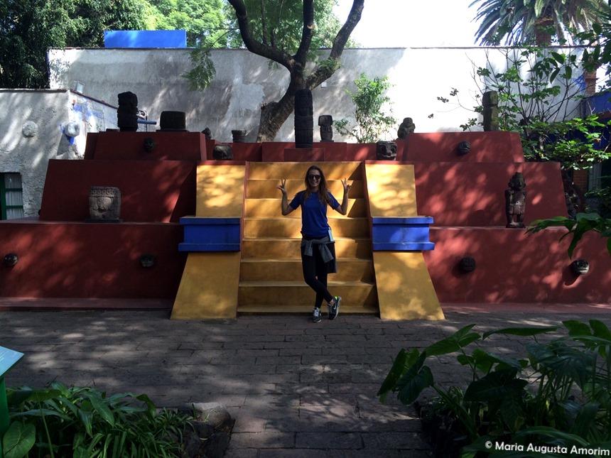 A casa azul - Museu Frida Kahlo
