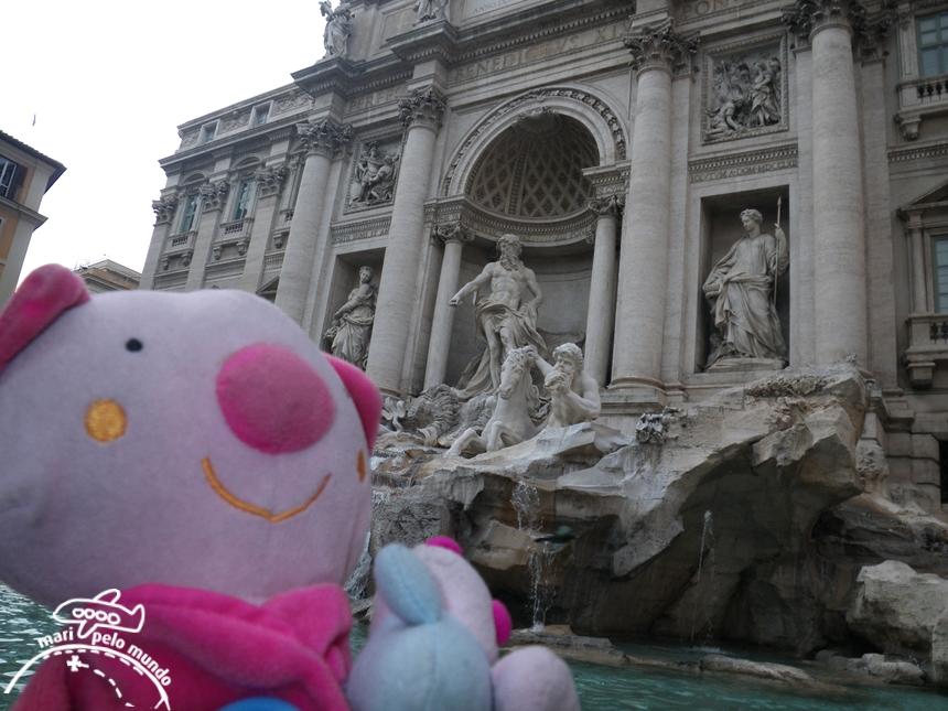 Fontana di Trevi para crianças