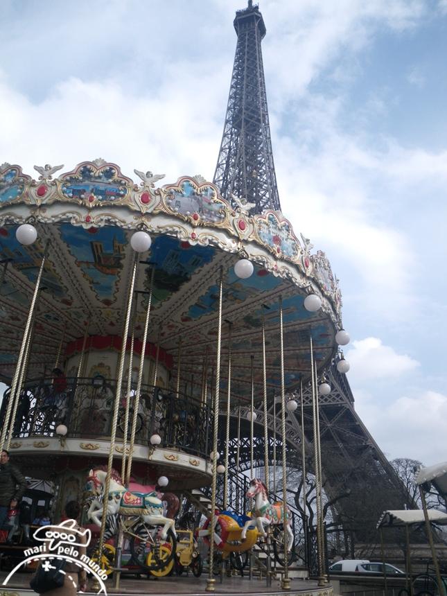 Paris com crianças