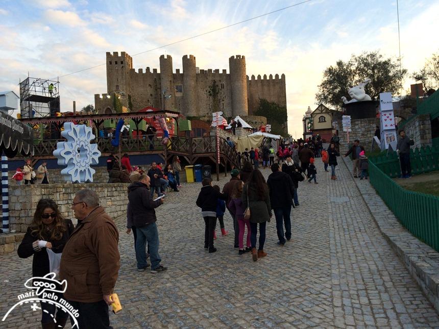 Castelo em Obidos