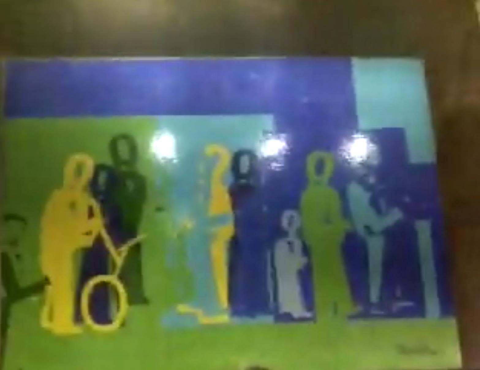 Arte no Metro