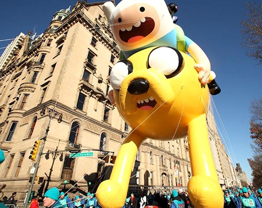 Thanksgiving da Macy´s - Balões do desfile