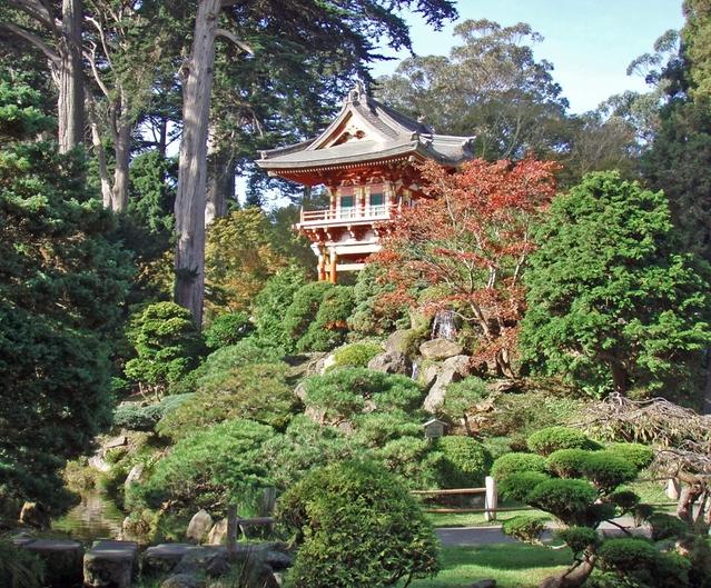 Golden Gate Park - Pagoda no Japanese Tea Garden