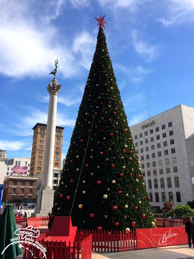 Arvore de Natal em Union Square