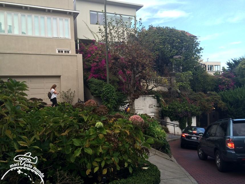 Roteiro em São Francisco - Lombard Street