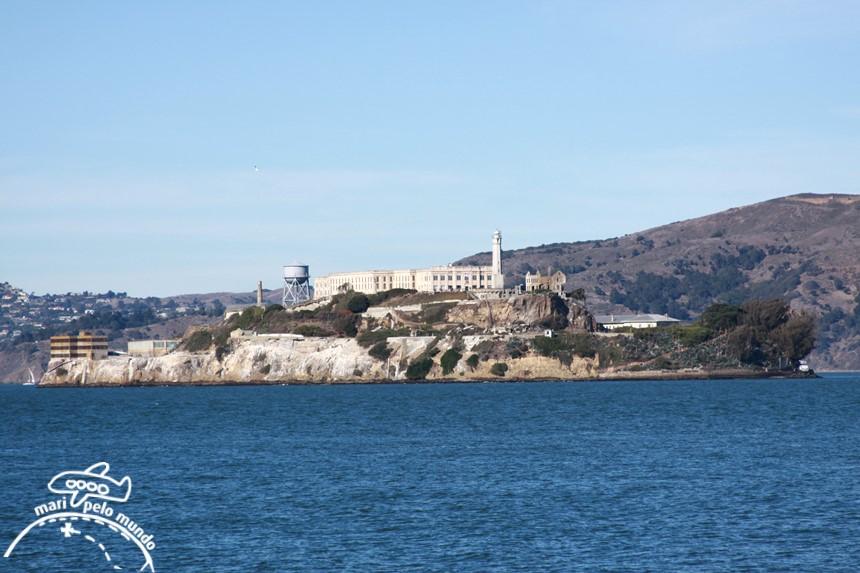 Roteiro em São Francisco - Alcatraz