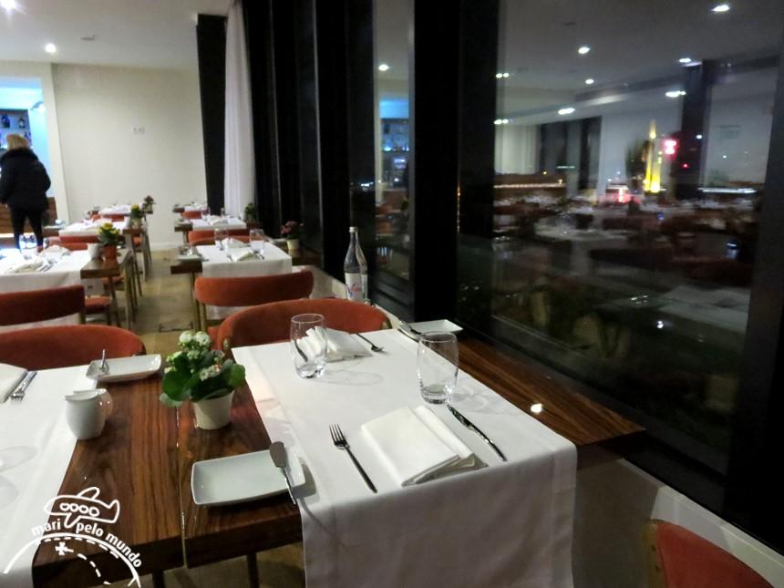 Restaurante Portobelo Rooftop no Porto