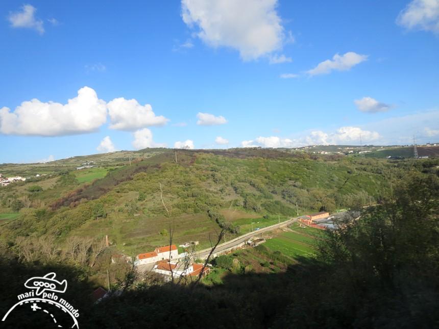 Paisagem de Lisboa a Mafra