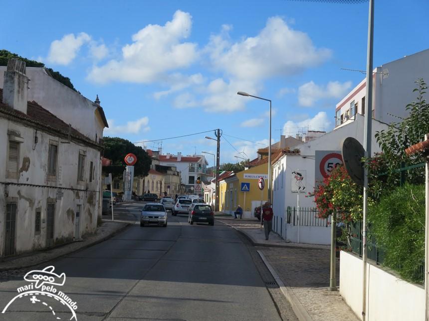Trajeto de Lisboa a Mafra