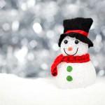Férias na neve: Como construir um boneco de neve
