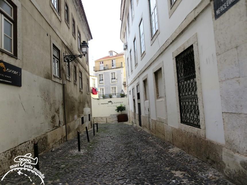 trajeto de Tuk tuk em Lisboa