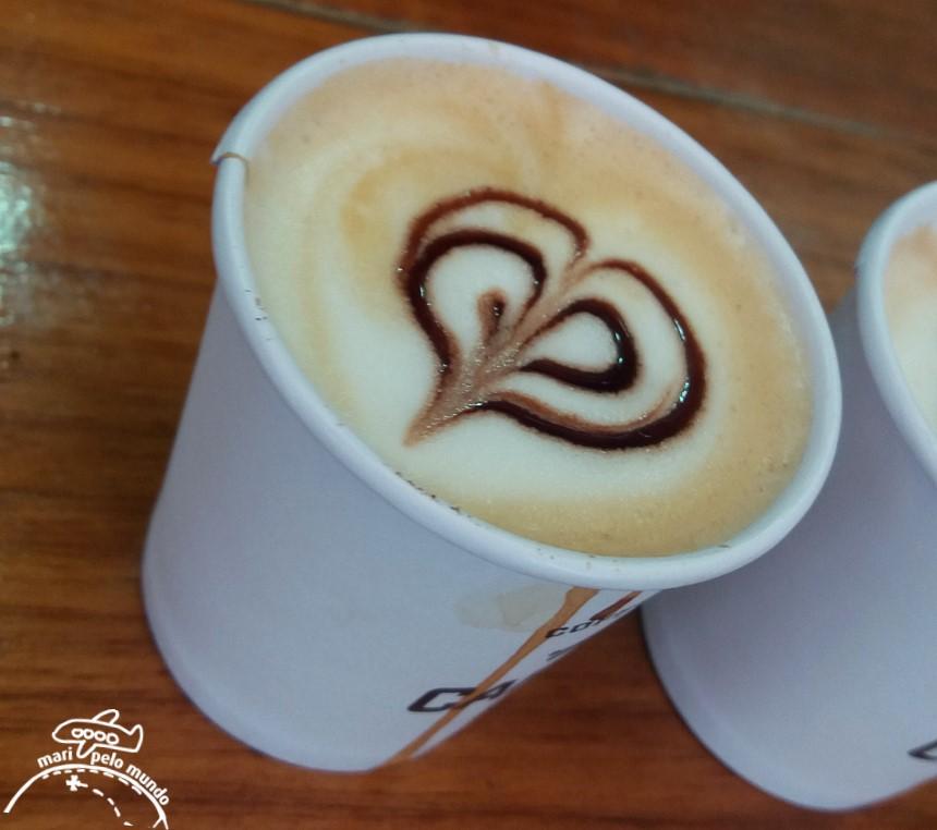 Café no Instituto Butantan