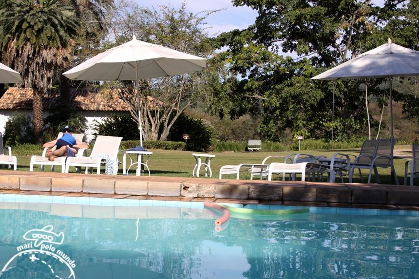 Fazenda Capoava - area da piscina