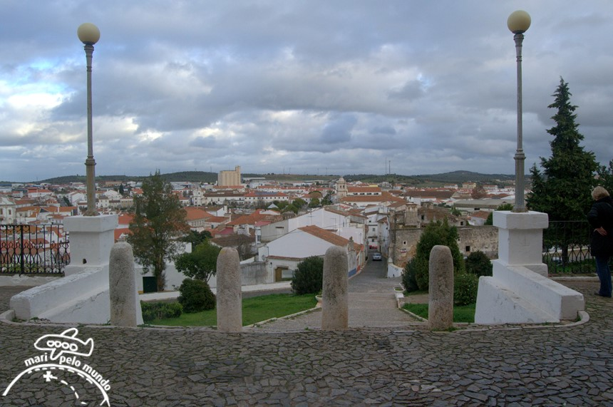 Vista da cidade a partido do castelo