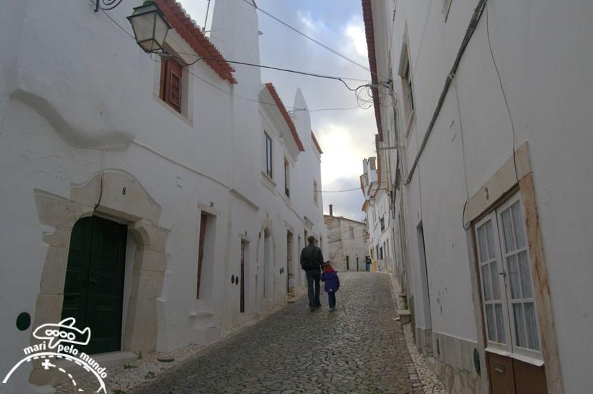 Ruas ao redor do castelo