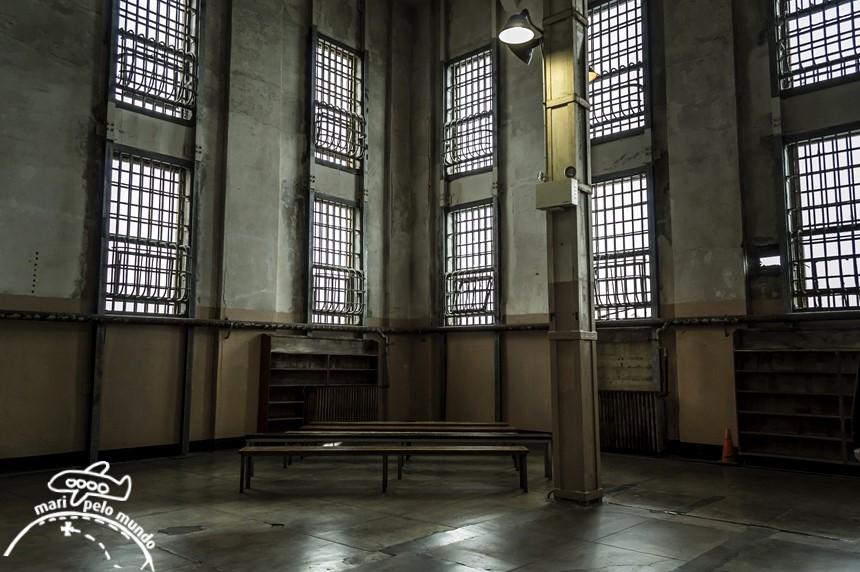 Alcatraz - interior da prisao