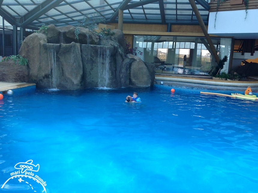 Piscina aquecida - Blue Mountain