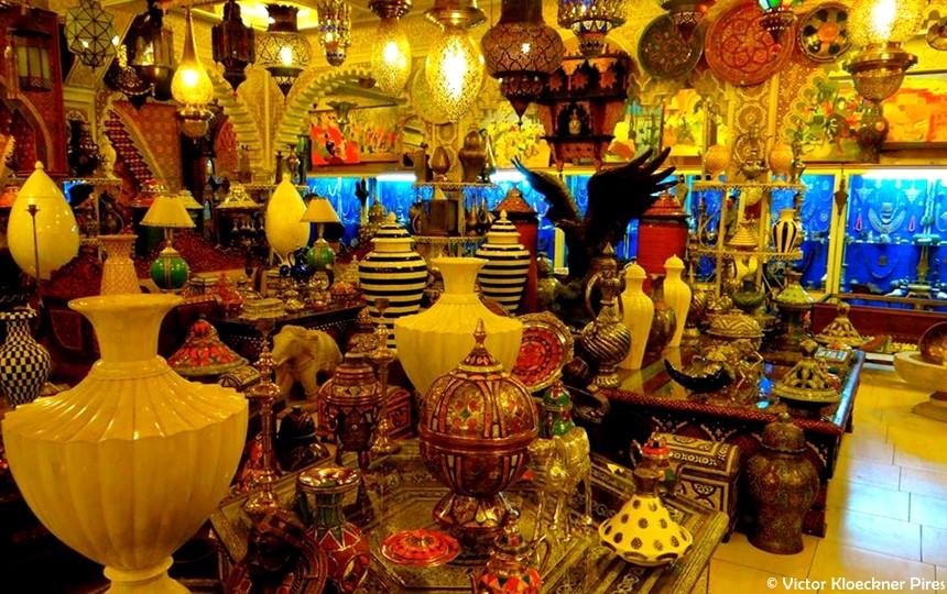 Compras em Marrakesh