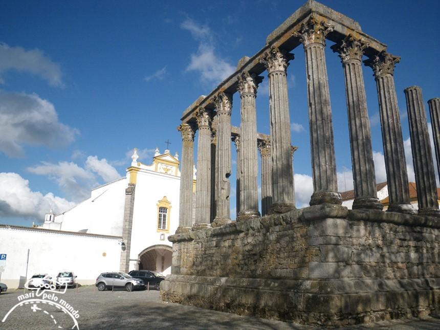 Evora - Templo de Diana