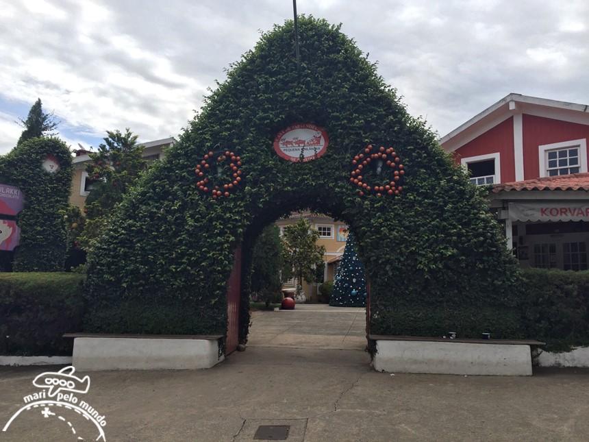 Pequena Finlândia e Casa do Papai Noel