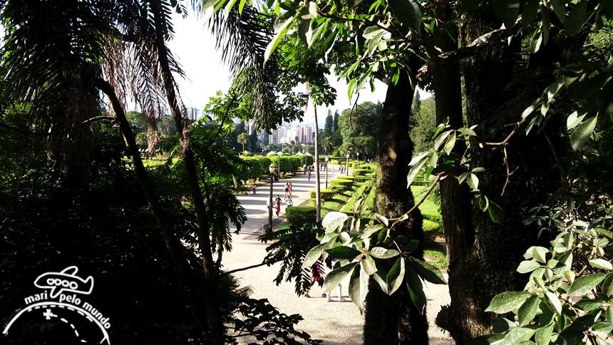 Parque da independência - O Jardim