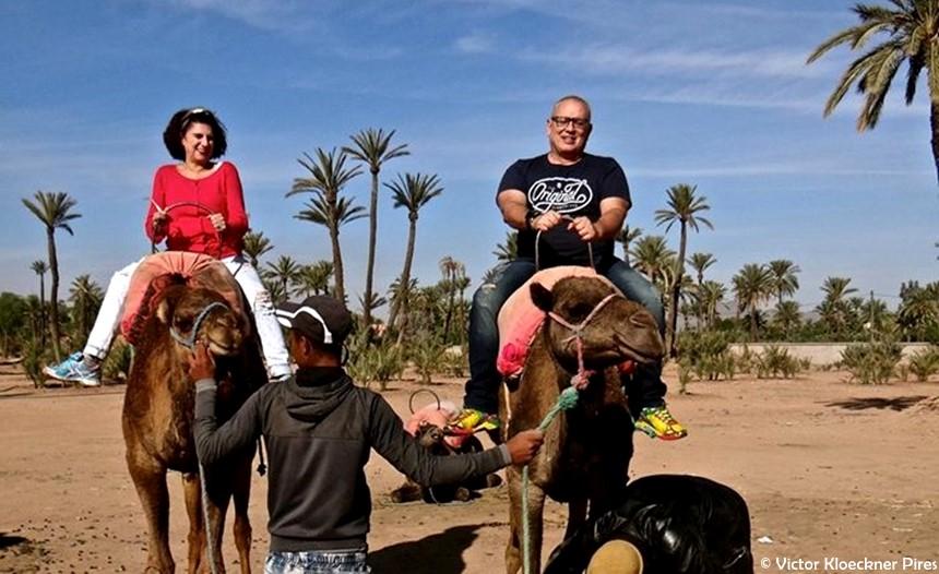 Passeio de Camelo em Marrakesh