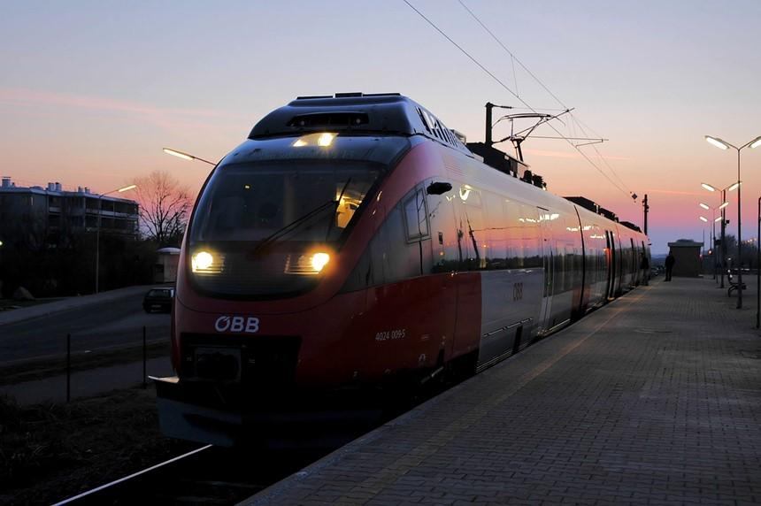 Trem em Viena