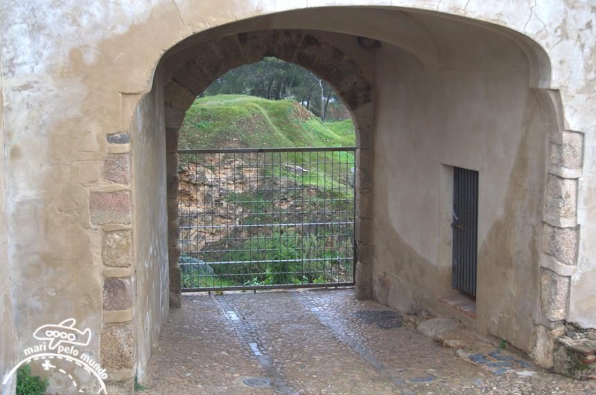 Antiga porta de entrada