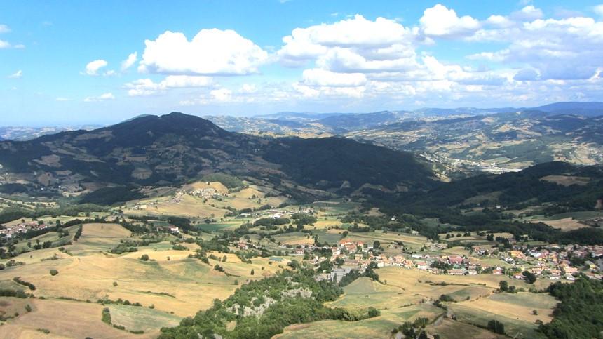 Emilia Romagna - Planicie do Po