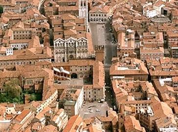Ferrara - Centro Medieval da cidade