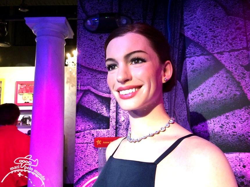 Anne Hathaway - Museu Madame Tussauds em Orlando