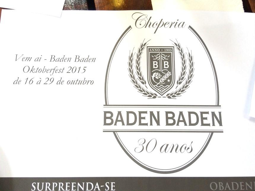 Baden Baden 30 anos