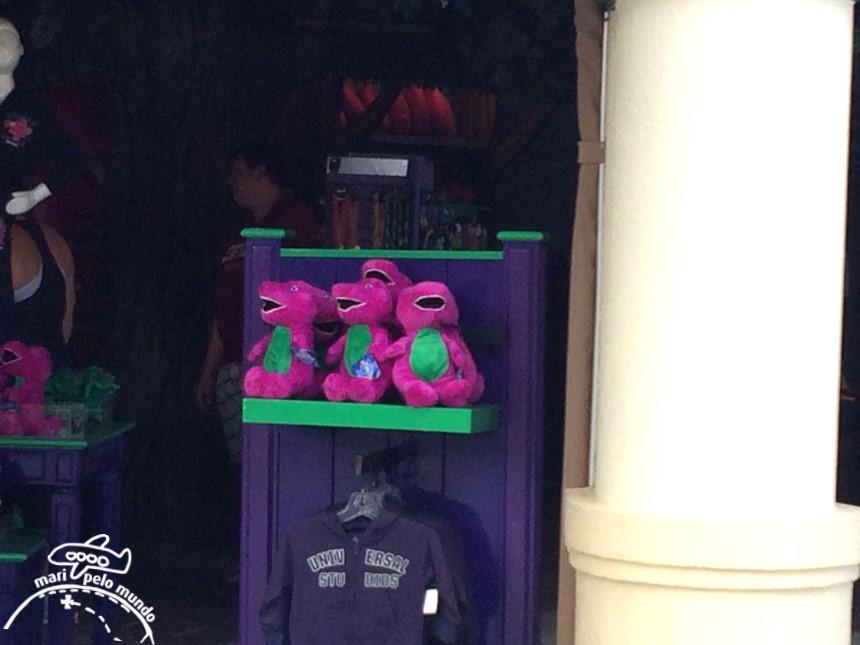 Barney na Universal Studios