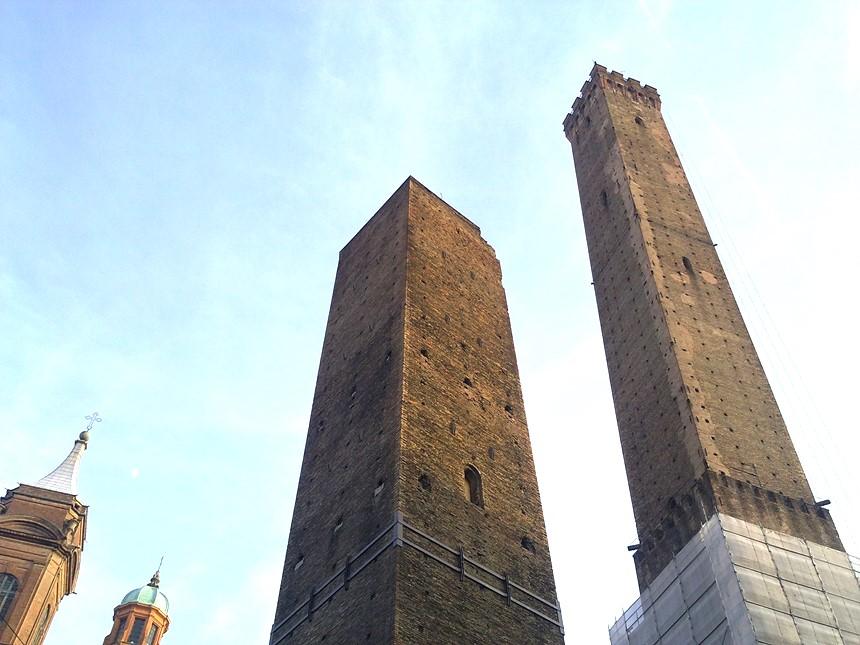 Bolonha - As duas torres