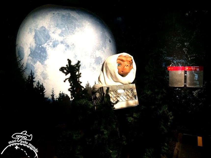 E.T. - Museu Madame Tussauds em Orlando