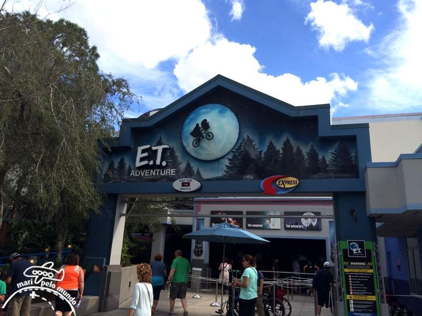 ET na Universal Studios