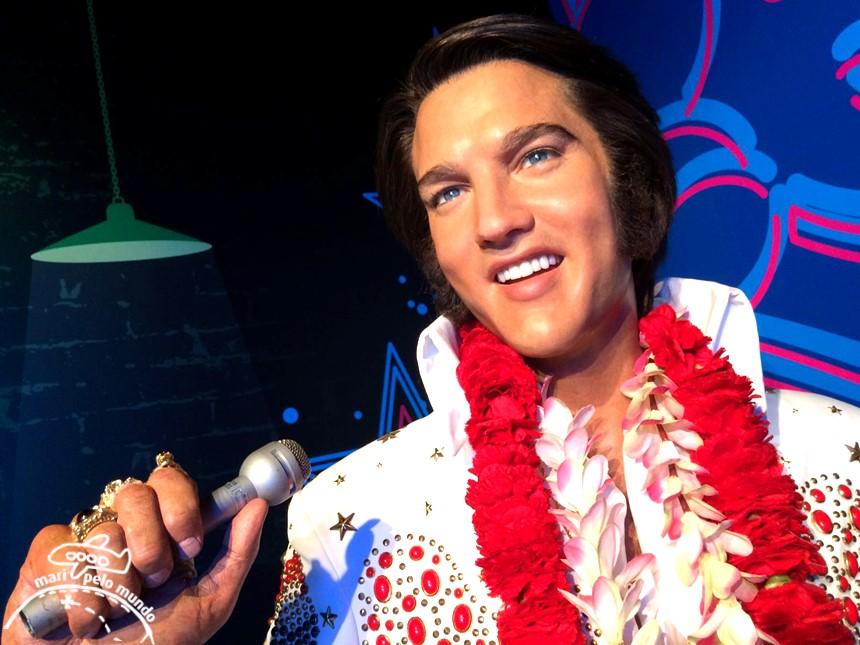 Elvis Presley - Museu Madame Tussauds em Orlando