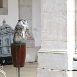 Falcões no Palácio Nacional de Mafra