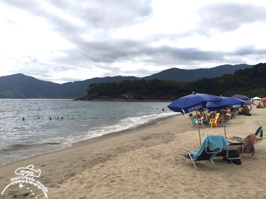 Praia do Paúba, São Sebastião