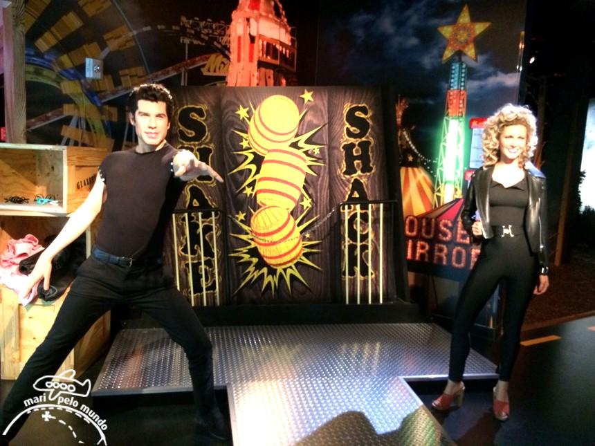 John Travolta - Museu Madame Tussauds em Orlando