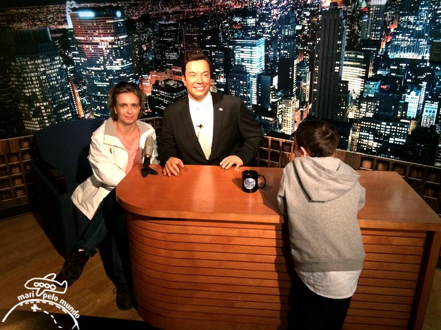Madame Jimmy Fellon Tussauds em Orlando