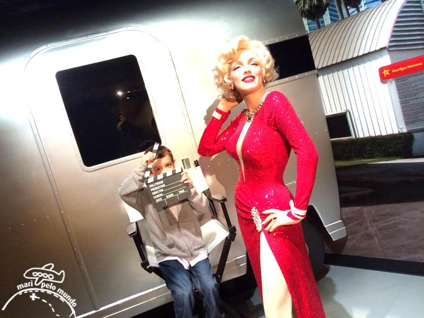 Marilin Monroe - Museu Madame Tussauds em Orlando