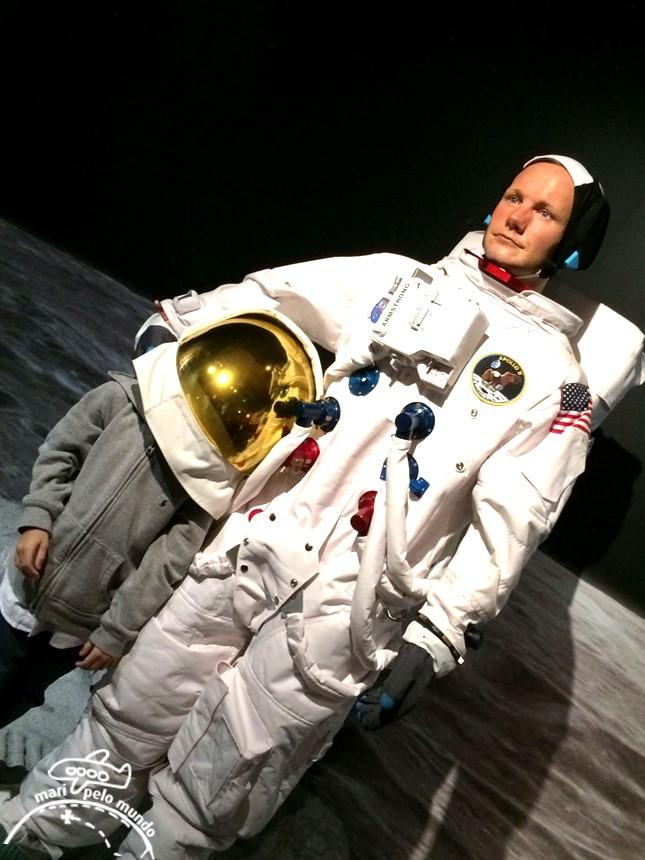 Neil Armstrong - Museu Madame Tussauds em Orlando