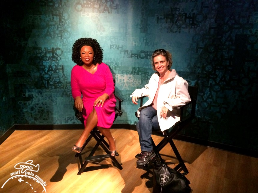 Opra Winfrey - Museu Madame Tussauds em Orlando