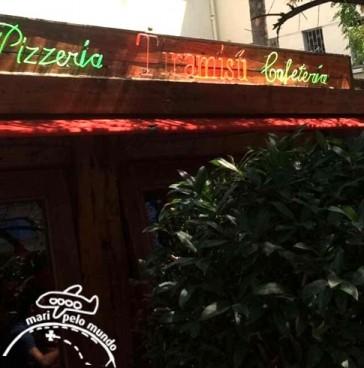 Comidas no Chile: Pizzaria Tiramisu em Santiago